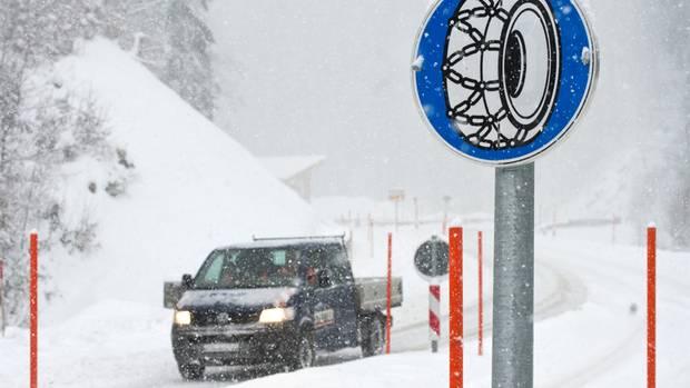 bayern schnee aktuelle lage