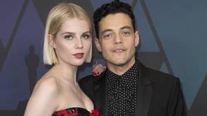 """Bohemian Rhapsody""-Darsteller Rami Malek und Lucy Boynton"