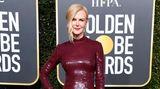 Wie eine zweite Haut schmiegte sich das rote Paillettenkleid von Michael Kors an den schmalen Körper von Nicole Kidman