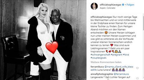 Sophia Vegas zeigt sich auf Instagram eng umschlungen mit ihrem Freund Daniel Charlier