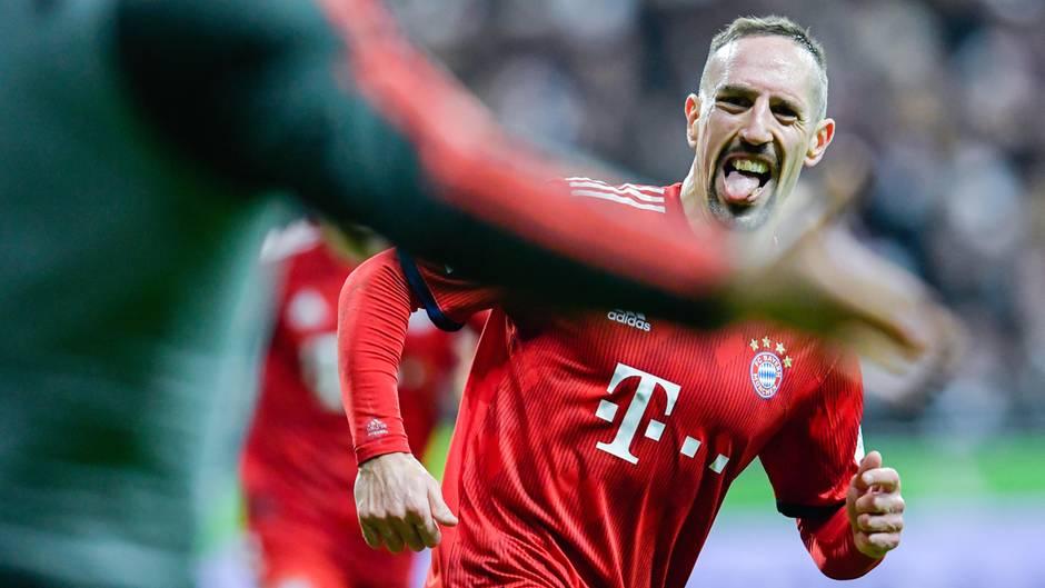 Franck Ribery ist als fröhlicher Teamclown bekannt - aber auch immer wieder für seine Ausraster