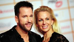 Michael Wendler und seine Ex-Frau Claudia gemeinsam vor der Kamera