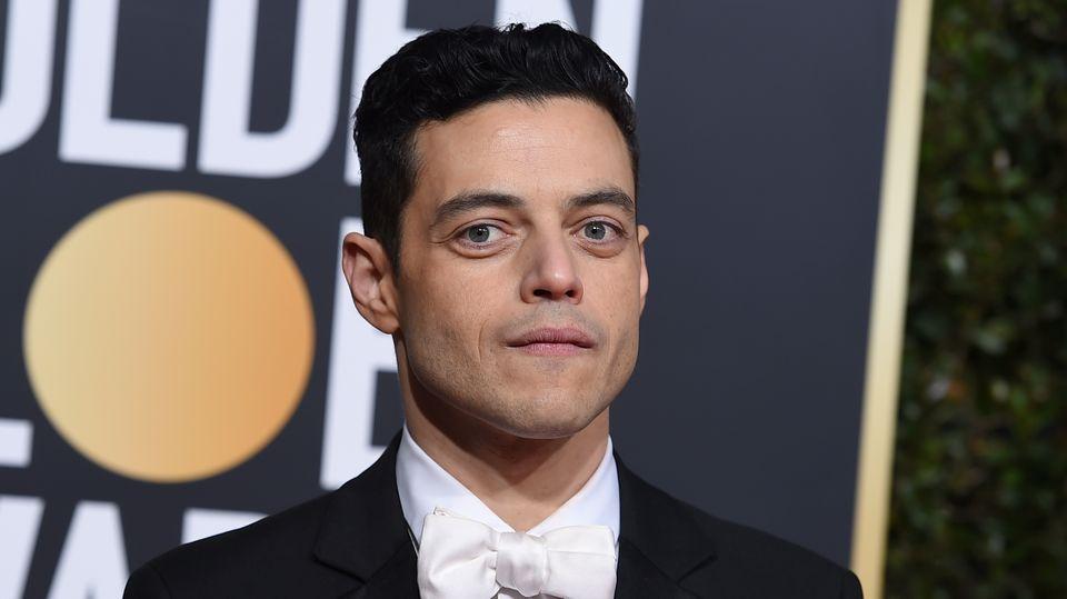 Rami Malek bei den Golden Globes