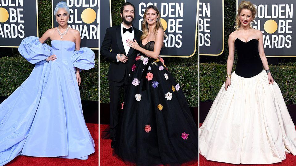 Stylewatch: Stoffbombe, Spitzenkleid oder gleich einen Schlafsack: Das sind die Looks der Golden Globes