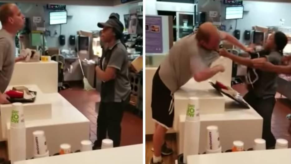 In Florida: Streit um Plastikstrohhalm eskaliert: McDonald's-Mitarbeiterin und Gast prügeln sich