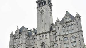 Das Trump International Hotel in Washington