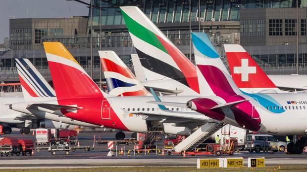 Flugzeuge amHamburg Airport