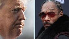 Donald Trump und Snoop Dogg