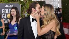Heidi Klum und ihr Verlobter Tom Kaulitz bei den Golden Globes