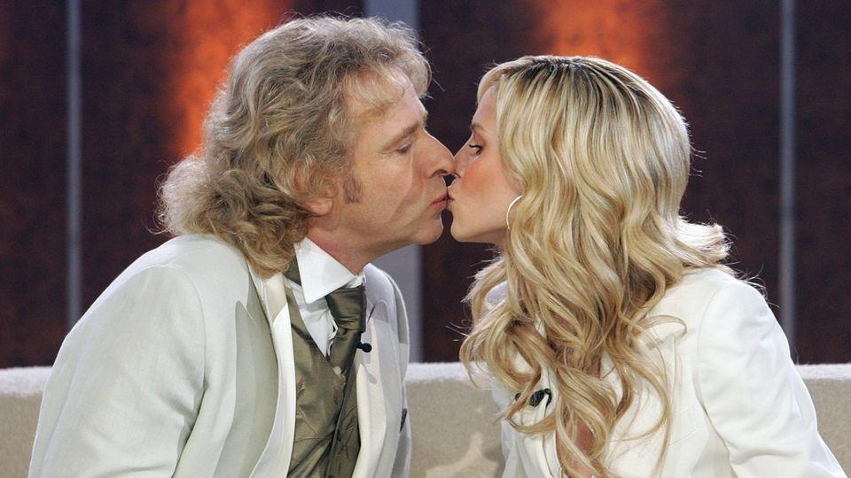 Thomas Gottschalk und Heidi Klum
