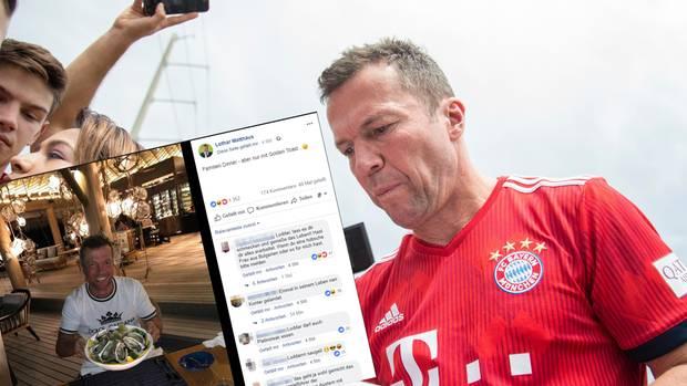 "Nach ""Steak-Gate"": Lotthar Matthäus nimmt Franck Ribéry aufs Korn"