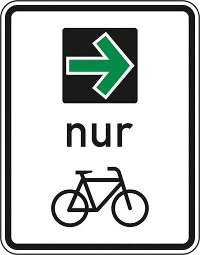 Verkehr: Grüner Pfeil für Radfahrer