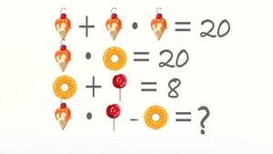 Jedes Symbol seht für eine Zahl - könnt ihr dieses Rätsel lösen?