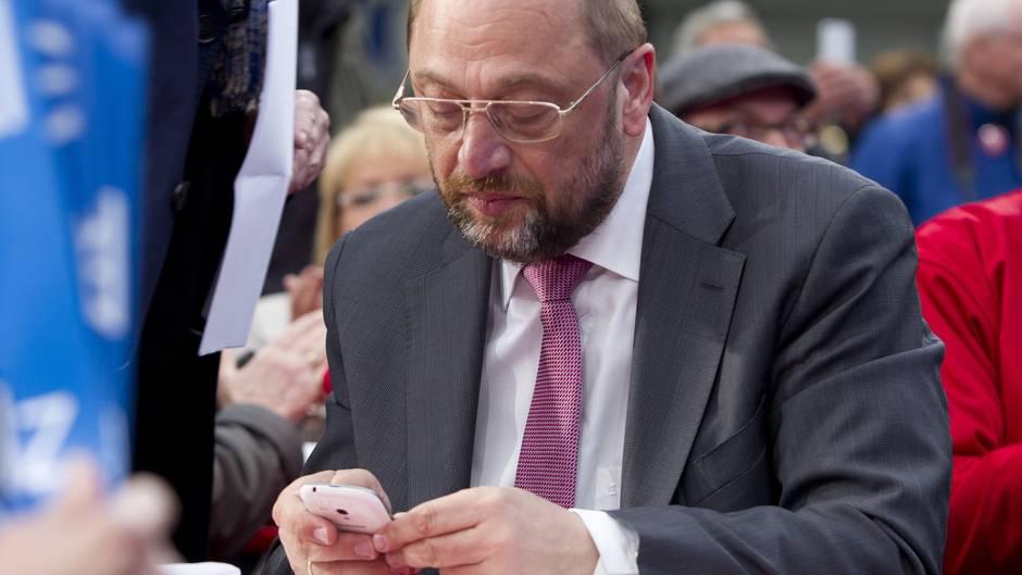 Datenklau - Martin Schulz - 19-Jähriger - Warnung