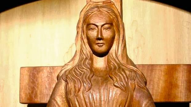 Die Statue der Heiligen Maria von Akita in Japan soll mehrfach Tränen vergossen haben