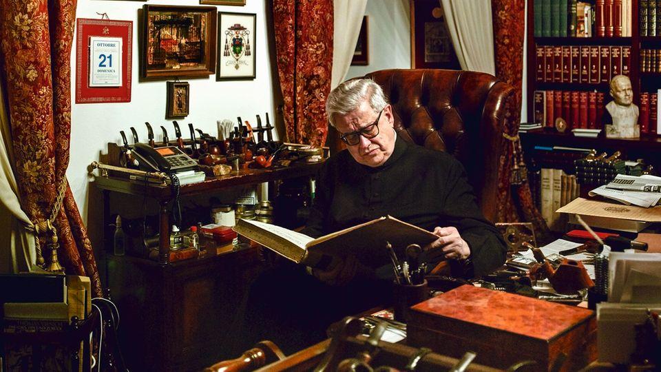 Der Regensburger Prälat Wilhelm Imkamp wachte auch in Rom über Wunder