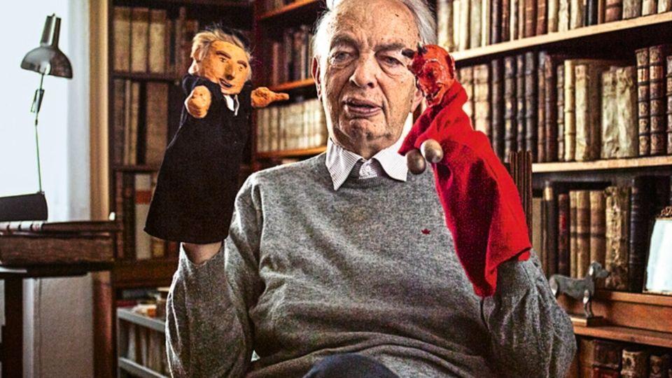 Klaus Berger liebt kleines Puppentheater. Und denkt über die großen Fragen nach