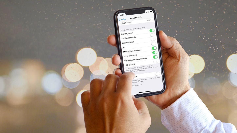 Mit den richtigen Einstellungen ist das iPhone sicherer.