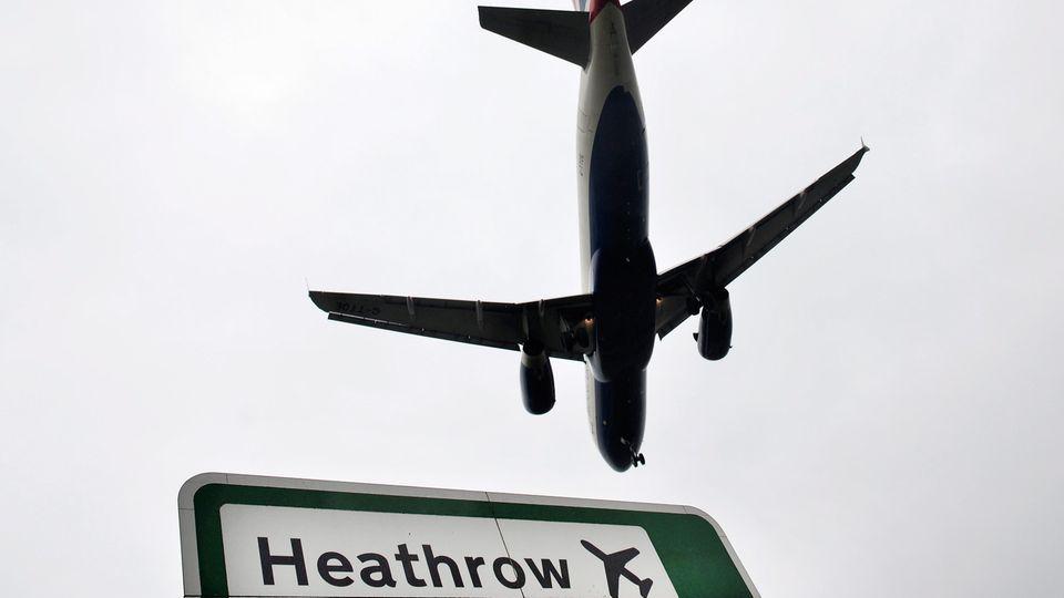 Erneut Drohnensichtung - Flughafen London Heathrow stoppt zeitweise alle Abflüge