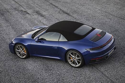 Porsche 911 Cabriolet der Baureihe 992