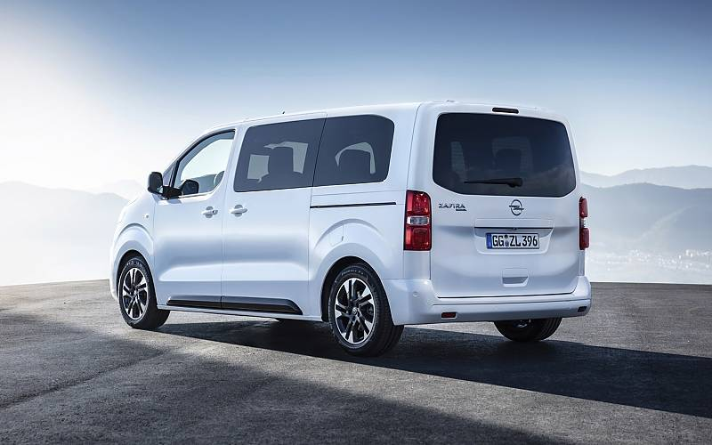 Opel Zafira Life - mit fünf bis acht Sitzen