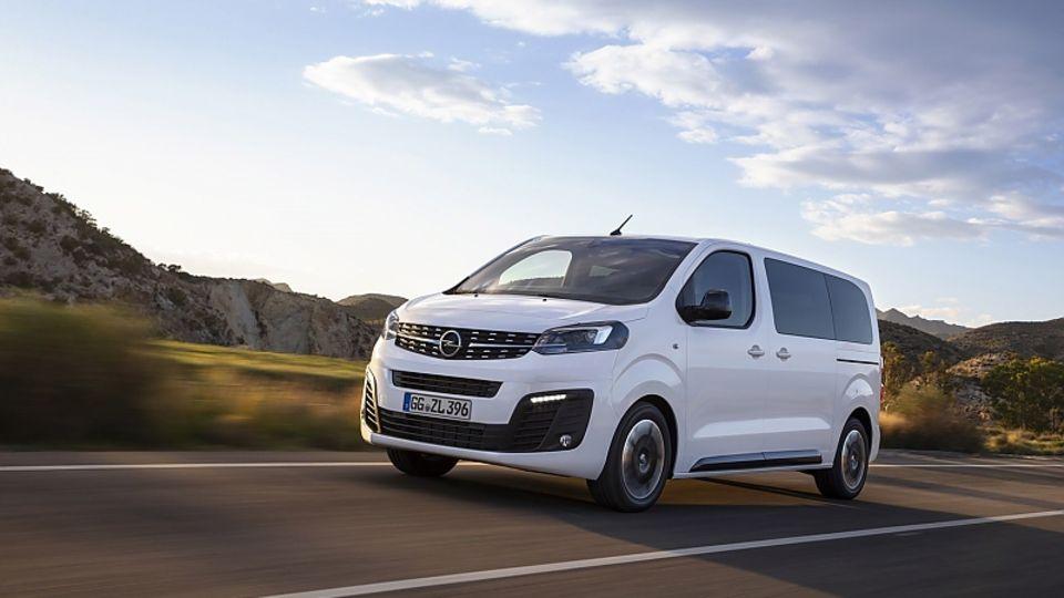 Opel Zafira Life - kommt aus dem Hause PSA
