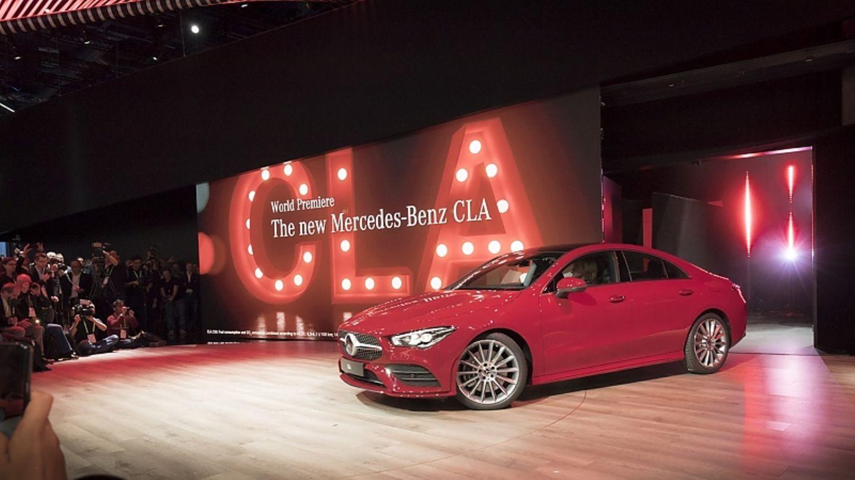Mercedes CLA 2019 - Weltpremiere auf der CES