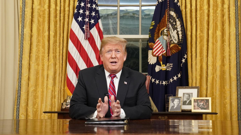 Trump bei Rede an die Nation