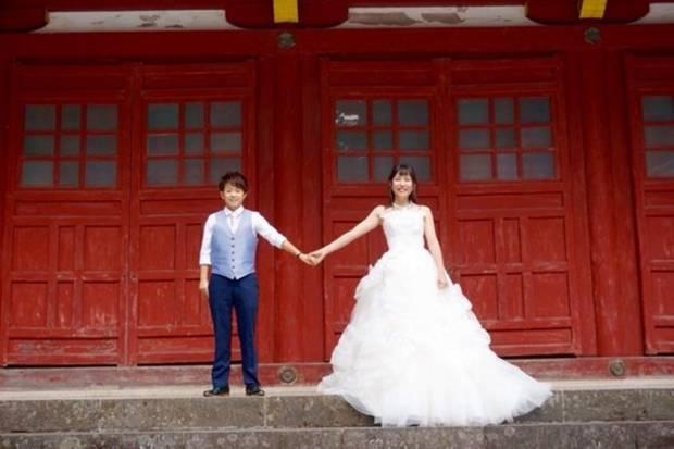 Misato Kawasaki und Mayu Otaki bei ihrer ersten Fotosession in Japan