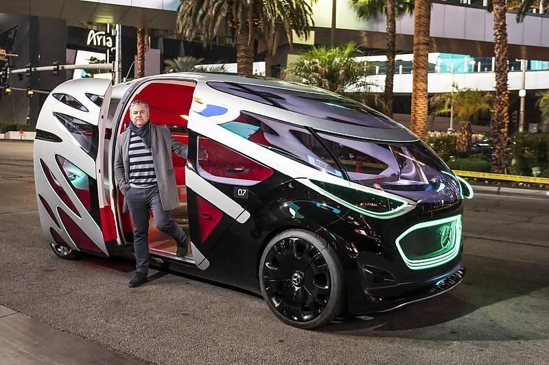 Mercedes Vision Urbanetic - einer der People Mover auf der CES 2019