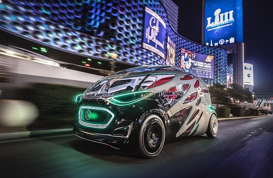 Mercedes Vision Urbanetic