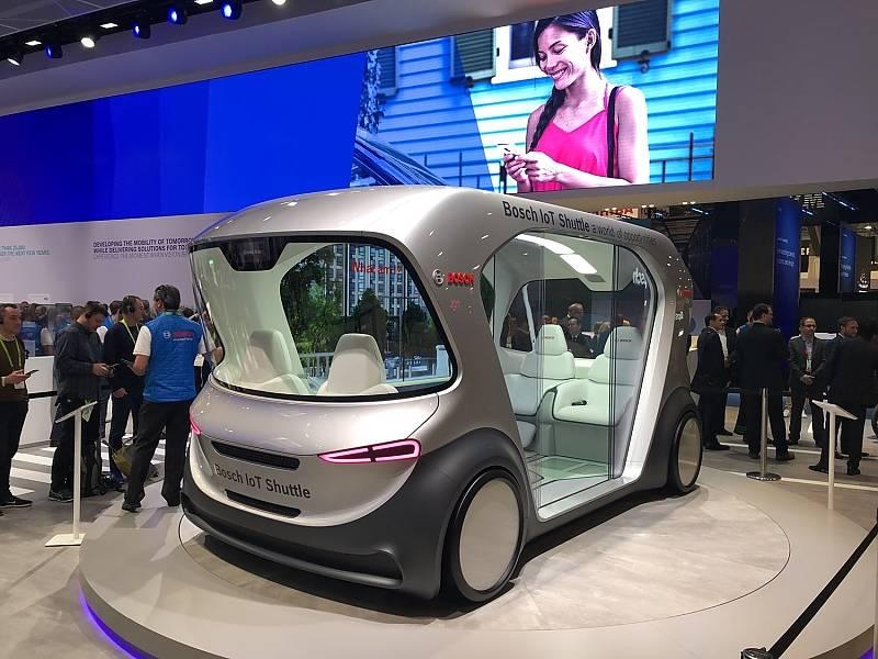 Bosch IoT Shuttle auf der CES 2019
