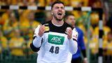 Jannik Kohlbacher, Kreisläufer  Rhein-Neckar-Löwen, 23 Jahre alt, 50 Länderspiele