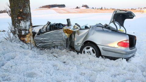 Wetter-Chaos: So viele Unfälle durch Eis und Schnee gab es in den letzten Jahren