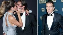 Heidi Klum, Tom Kaulitz und Antonio Banderas bei den Golden Globes