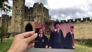 """Andrea David reist zu Drehorten von """"Harry Potter"""""""