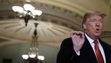 Donald Trump wird nicht müde, wegen einer angeblichen Sicherheitskrise, die Mauer zu Mexiko zu fordern