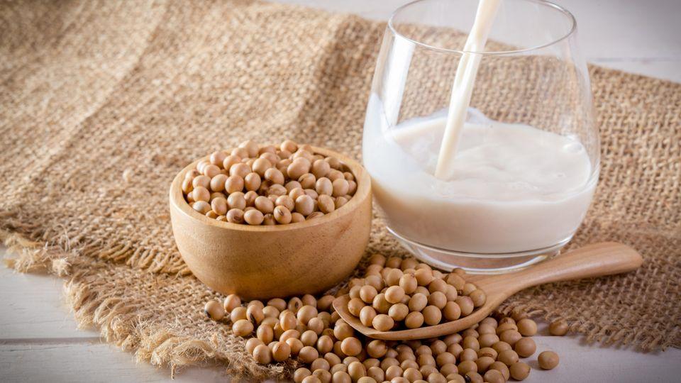 Sojamilch  Vor allem Amerikaner und auch Europäer trinken Sojamilch am liebsten. Marktführer Alpro verwendet Soja aus Kanada undEuropaund versucht nach eigenen Angaben darauf zu achten, dass der Anbau so nachhaltig wie möglich ist und so wenig Pflanzenschutzmittel wie möglich verwendet wird. Deren Bio-Ableger Provamel bezieht Soja vollständig aus Europa. Die Sojamilch des französischen Bio-Unternehmens Sojade (So Soya!) verwendet Soja, das ausschließlich aus Frankreich stammt.