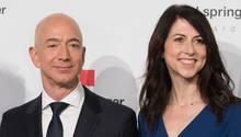 Jeff und MacKenzie Bezos