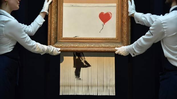 Sotheby's: Banksy-Werk