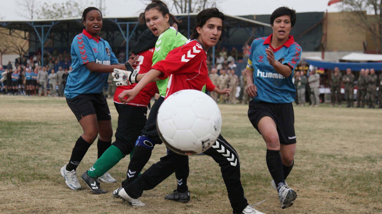 Testspiel der afghanischen Nationalmannschaft