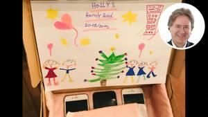 """Handyfreie Zeit: In """"Holly's Handy Hotel"""" genossen die Smartphones der Familie Behrendt zwischen den Jahren eine für alle wohltuende Auszeit"""