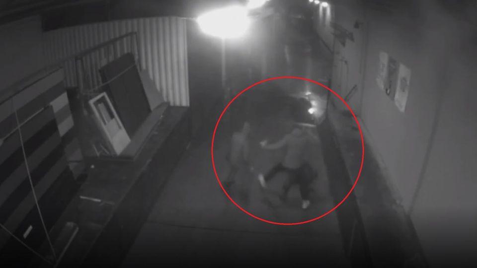 Videoaufnahmen vom Angriff auf den AfD-Politiker Frank Magnitz der polizei Bremen