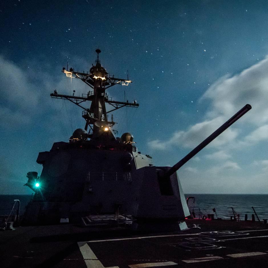 Waffentechnik: Renaissance der Pulverkanone - US-Navy testet neues Hochgeschwindigkeitsprojektil