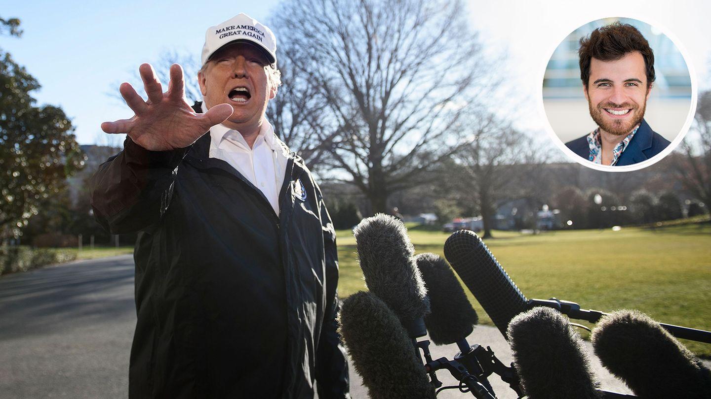 Trump Und Die Mauer