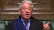 John Bercow im britischen Parlament