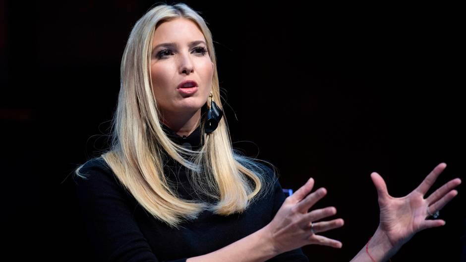 Ivanka Trump ist die Tochter von US-Präsident Donald Trump