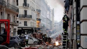 Die heftige Explosion erschütterte gegen 9 Uhr morgens die Pariser Innenstadt