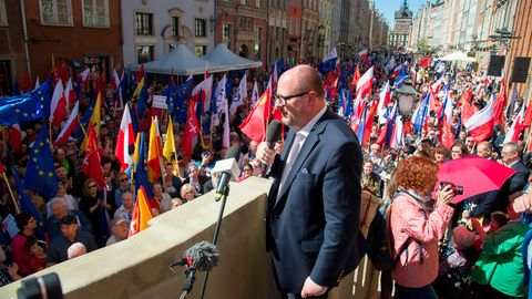 Danziger Bürgermeister Pawel Adamowicz