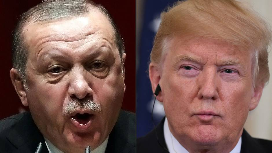 Donald Trump warned Erdogan with sharp words about a new offensive against Kurdemämpfer in Syria